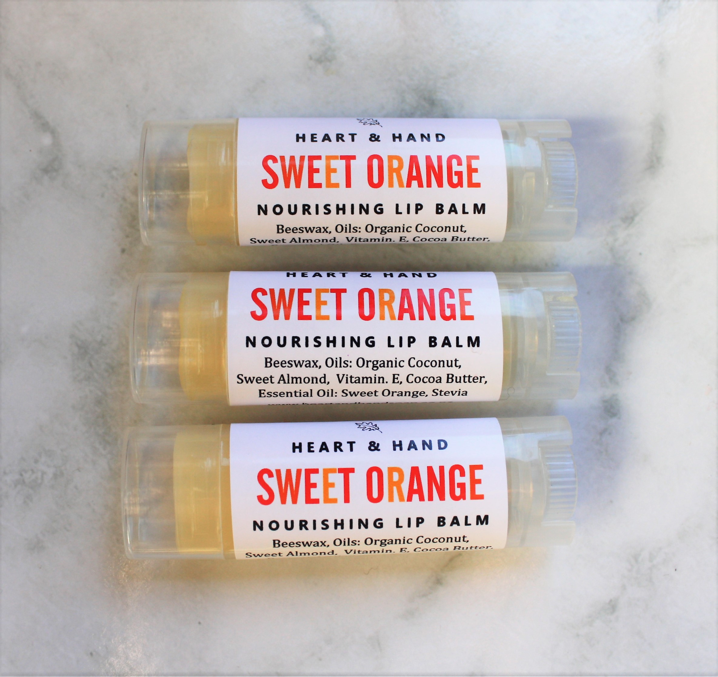 Sweet Orange lip balm