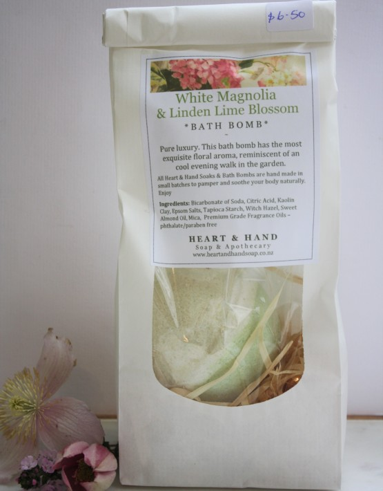 White magnolia packaged