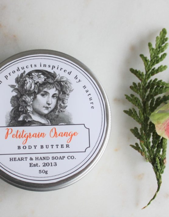 petitgrain orange body butter